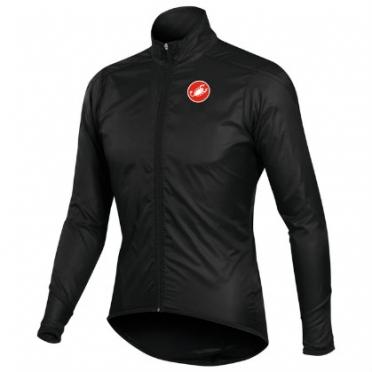 Castelli squadra long jacket black mens 10504-010