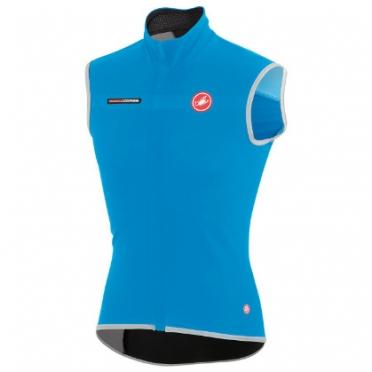 Castelli Fawesome 2, gabba windvest blue mens 14514-059
