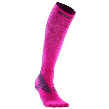 2XU Elite compression socks pink women WA1994e 2015