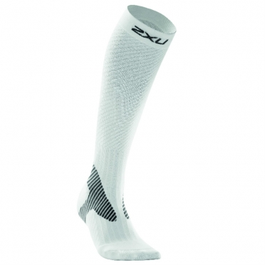 2XU compression elite socks white ladies WA1994e2015