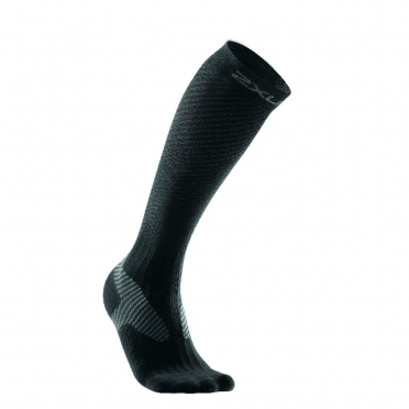 2XU compression elite socks black/grey men MA1993e 2015