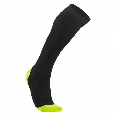 2XU Performance compression socks black/yellow women WA2443e 2015