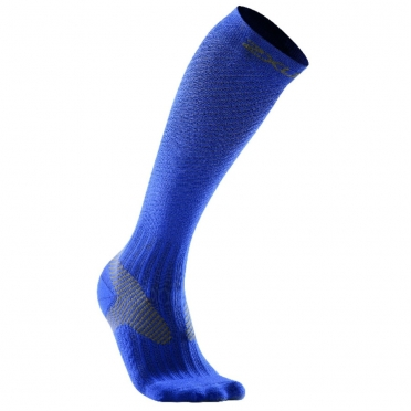 2XU compression elite socks blue men MA1993e 2015