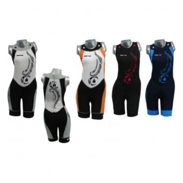 Ironman women's tri suit sleeveless back zip tattoo 8917