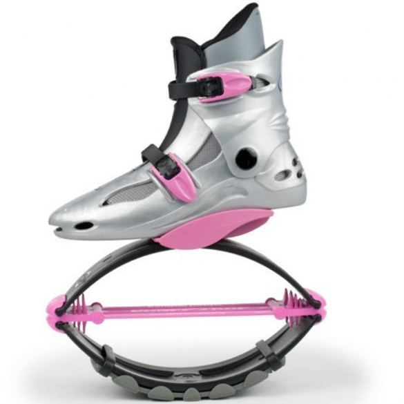 Kangoo Jumps Powershoe Special Edition Silver Pink Online