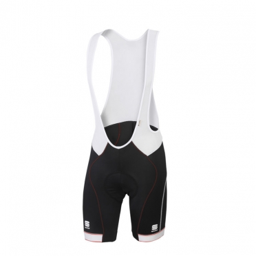 Sportful Giro bibshort black/white/red men