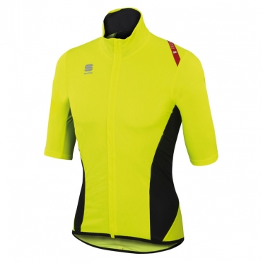 Sportful Fiandre Light Norain Short Sleeve yellow men