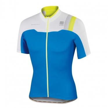 Sportful Bodyfit pro team jersey blue/white/yellow men