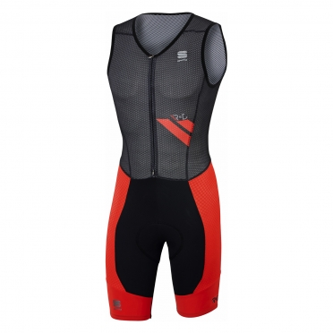 Sportful R&D Ultraskin Bibshort black/red men