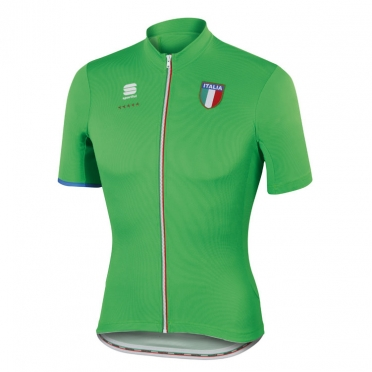 Sportful Italia CL cycling jersey green men