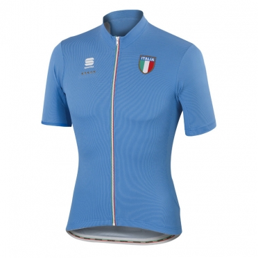 Sportful Italia CL cycling jersey blue men