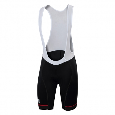 Sportful Giro bibshort black/red men