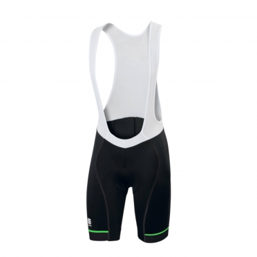 Sportful Giro bibshort black/fluo-green men