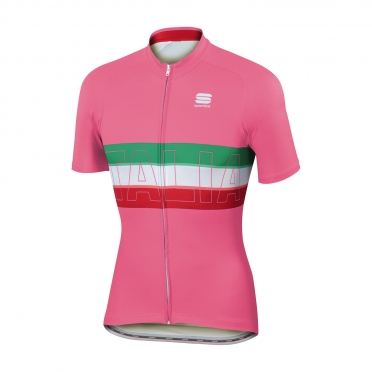 Sportful Italia IT cycling jersey pink men