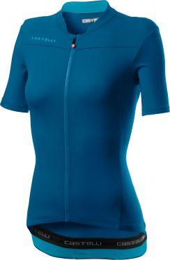 Castelli Anima 3 SS jersey marine blue women