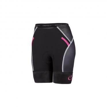 Castelli Free W tri Short black/pink women 16078-010