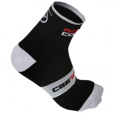 Castelli rosso corsa 9 sock black mens 9046-010