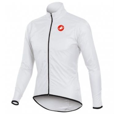 Castelli squadra long jacket white mens 10504-001