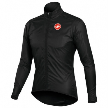 Castelli squadra long jacket black mens 10504-010