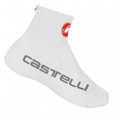 Castelli lycra overshoes white mens 10534-001