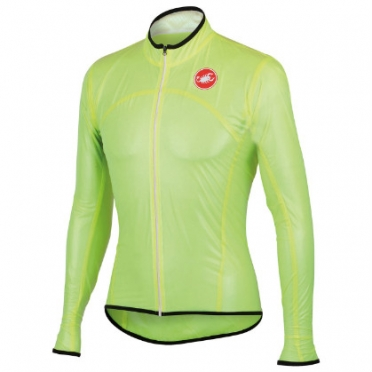 Castelli Sottile due jacket yellow-fluo mens 13086-032