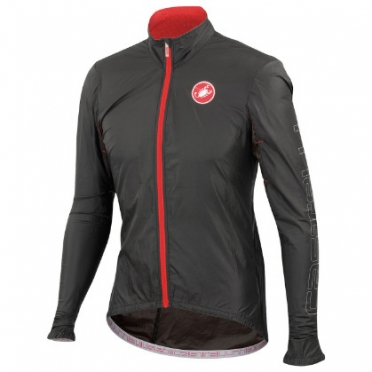 Castelli Velo jacket black mens 14026-010