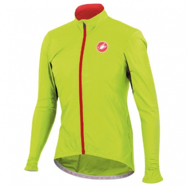 Castelli Velo jacket yellow-fluo mens 14026-032