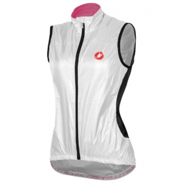 Castelli Velo W cycling vest white women 14065-001
