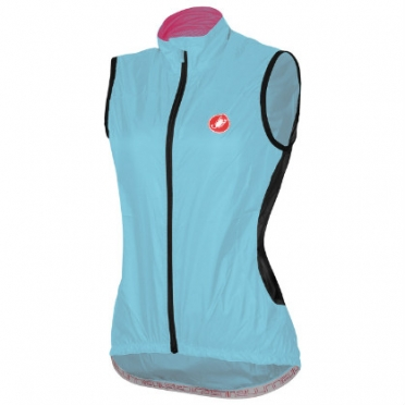Castelli Velo W cycling vest blue women 14065-066