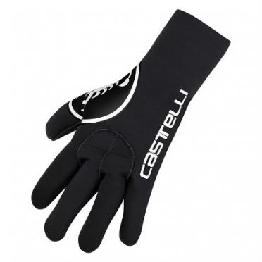 Castelli Diluvio glove black mens 14536-010