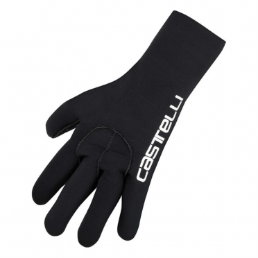Castelli Diluvio glove black/CA text mens 14536-110