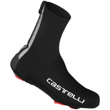 Castelli Diluvio shoecover 16 black/text mens 14538-110