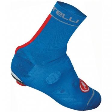 Castelli Belgian bootie 4 overshoes blue/red mens 14544-059