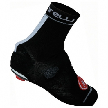 Castelli Belgian bootie 4 overshoes black/white mens 14544-101
