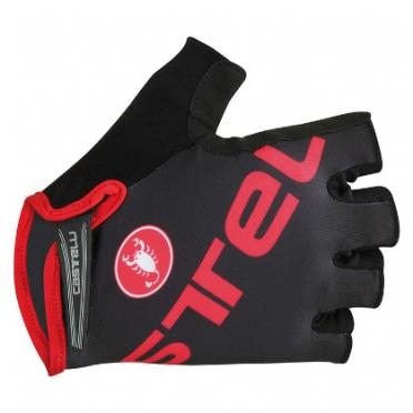 Castelli Tempo V glove black/red mens 15027-231 2015