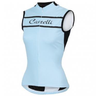 Castelli Promessa sleeveless jersey pale sky women 15053-065 2015
