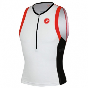 Castelli Free tri top white mens 13024-101 2015