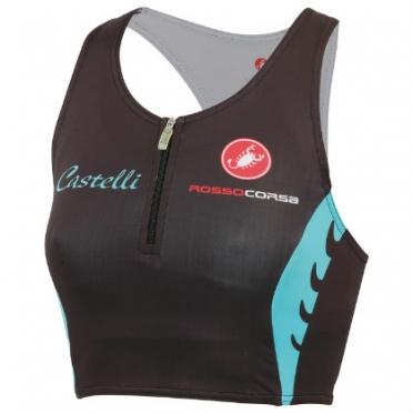 Castelli body paint W tri short top women 14116-101 2015