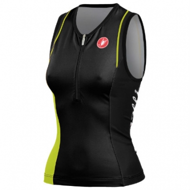 Castelli Core W tri top black/lime women 14120-431