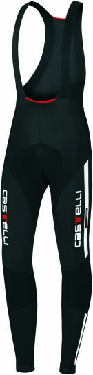 Castelli Sorpasso bibtight mens black/white 10510-101