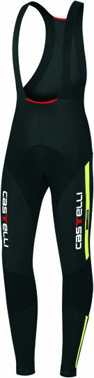 Castelli Sorpasso bibtight mens black/yellow-fluo 10510-321