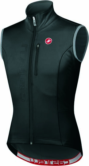 Castelli isterico windvest black/anthracite mens 11504-910