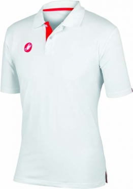 Castelli race day polo white mens 13096-001