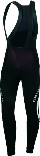Castelli Sorpasso WIND bibtight mens black/white 13521-101