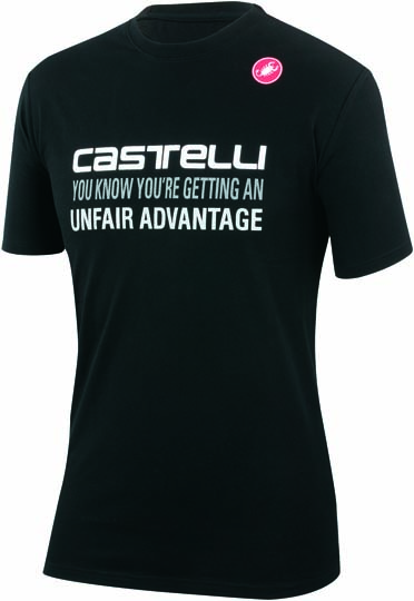 Castelli advantage T-shirt black mens 14074-010