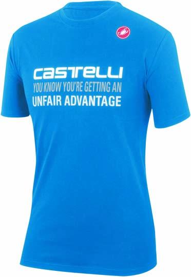 Castelli advantage T-shirt blue mens 14074-059