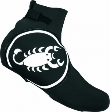 Castelli Diluvio shoecover black/white mens 14537-010