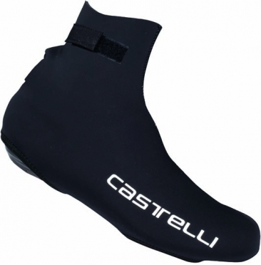 Castelli Diluvio shoecover black/CA text mens 14537-110