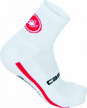 Castelli Merino 9 sock men white 14545-001