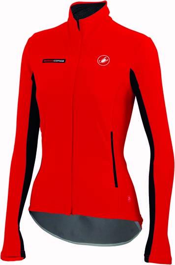 Castelli gabba W long sleeve jacket red women 14557-023